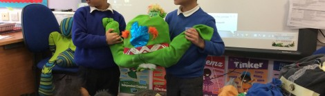 Alien Characters – Every Child is an Artist